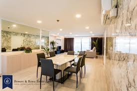 pristine three bedroom condo for rent in phrom phong bowery and