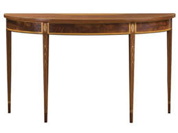 stickley mahogany dining table stickley living room hepplewhite console table 4714 slone brothers