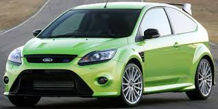 old ford cars why buy a new ford focus rs when you can buy the old one instead
