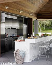 Narrow Bar Table Indoor Outdoor Kitchen Ideas Custom Stainless Steel Bbq And Gas