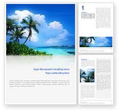 island brochure template island word template 02272 poweredtemplate