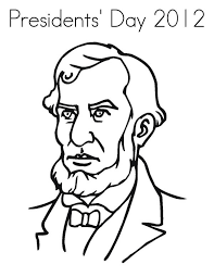 presidents day printable coloring pages abe lincoln figure on presidents day coloring page download