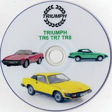 triumph tr6 tr7 tr8 workshop manuals plus videos disc u2022 5 99