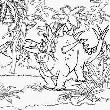 forest coloring page for children kids coloring
