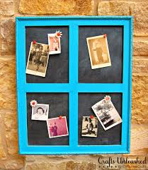 how to make a window frame bulletin board idolza