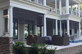 Motorized Screens For Patios Motorized Patio Screens Advanced Integrated Controls