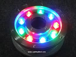 submersible led fountain lights led pond fountain light ring submersible spotlight for pond pool