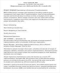 Best It Resume Format It Resume Examples It Support Cv Template It Cv Template Cvit