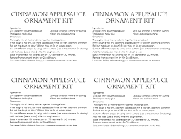 cinnamon ornaments recipe rainforest islands ferry