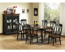 black dining room table set unique black dining room table set homelegance ohana collection