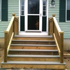 Stairs With Landing by Find The Right Mobile Home Steps Or Stairs For You Mobile Home