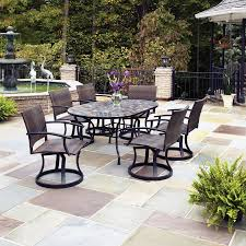 Patio Dinning Table Home Styles Stone Harbor Oval Outdoor Dining Table Patio Table