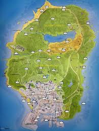Map Letters Gta 5 Letter Snippets Map With All 50 Localities
