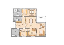 Esszimmer In M Chen Zentraler Punkt Dieser Familienfreundlichen Wohnung Ist Der Große