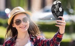 handheld misting fan opolar handheld misting fan rechargeable battery