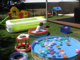 back yard water park water parks yards and water