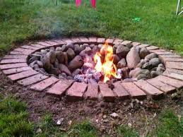 Backyard Fire Pits Designs Marvelous Diy Outdoor Fire Pit Designs For Real Enjoyment Outside