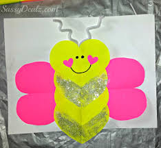 valentine u0027s day heart shaped animal crafts for kids valentines