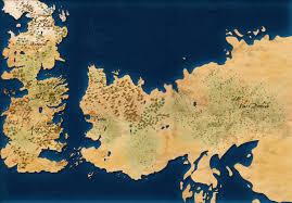 Essos Map Completion Of The Map A Capstone Of Ice And Fire