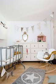 ambiance chambre fille déco chambre bébé fille et garçon en style scandinave pour un