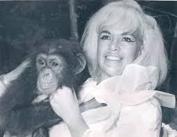 Jane Mansfield Chimps And Actors In Publicity Photographs