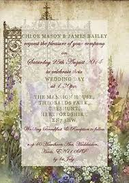 wedding invitations ebay personalised vintage postcard destination wedding invitations