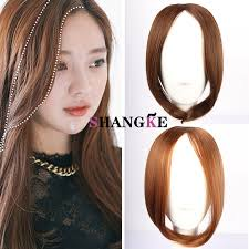 hair extensions for thinning bangs 13 inch 43g bangs clip in bangs front hair extensions headband