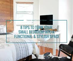 Small Bedroom With No Wall Space 8 Tips To Turn Your Small Bedroom Into A Functional U0026 Stylish