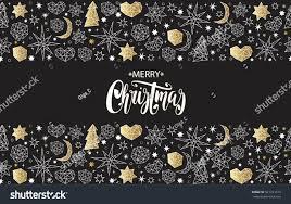 merry christmas happy new year luxury stock vector 521231413