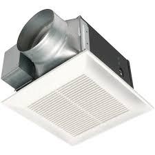 whisper green select fan modern style panasonic whisper green select 50 80 110 cfm ceiling