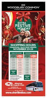 line shopping tour woodbury common