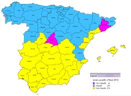 Almeria Spain Map by Dr Dm Ltd