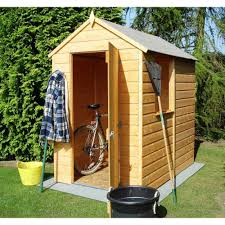 simple backyard outdoor with small lowes shed kit lockable single