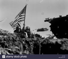 Guam Flag Soldiers Plant The American Flag On Guam Eight Minutes After U S