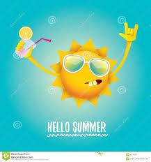 hello summer rock n roll vector label or logo stock vector