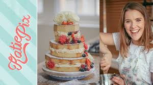 3 tier homemade wedding cake recipe with cath kidston