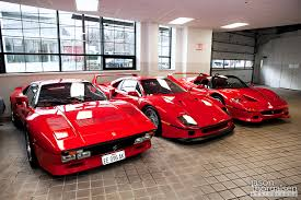 ferrari dealership inside ferrari red never looked so good cars u0026 bikes pinterest