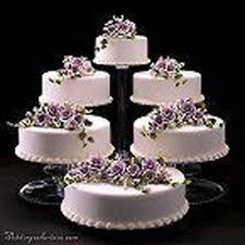 show me wedding cakes food photos