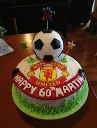 manchester united birthday cake and cupcakes man u logo hand