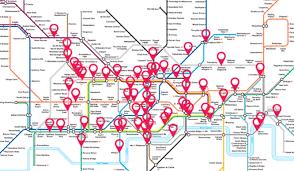 map underground listen to the sound of the underground with this interactive