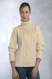 turtle neck sweaters s aran turtleneck sweater aran sweaters direct