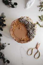 chocolate hazelnut cake with gianduja praline swiss meringue