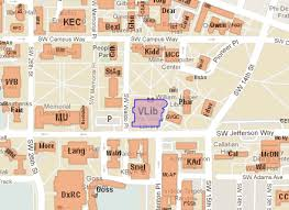 cus map libraries oregon state