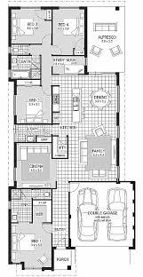 narrow house plan house plan narrow house plans with garage underneath