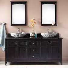 double sink mirror vanity signature hardware