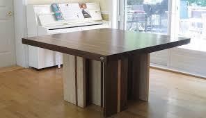 pied de table de cuisine tables en bois massif signature stéphane dion
