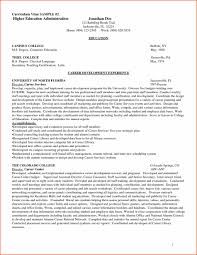 Sample Curriculum Vitae Template Download by Curriculum Vitae Examples Sample Resume123