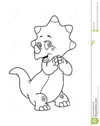 coloring pages dinosaur stock photography image 15597992