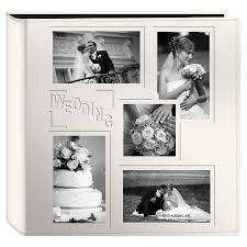 pioneer photo albums inc embossed collage frame 5 up photo wedding album target
