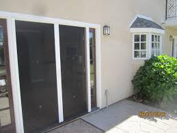 Screen Doors For Patio Doors Exterior View Doors Of Retractable Screen Doors Sherman